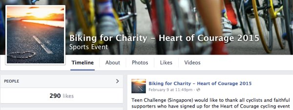 Biking for Charity  Heart of Courage 2015 | Facebook